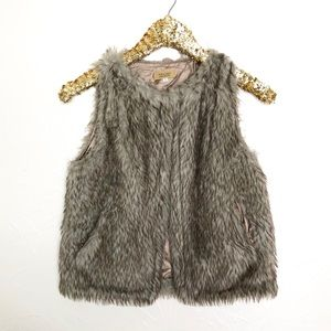 PIKO 1988 Fur Vest with Pockets
